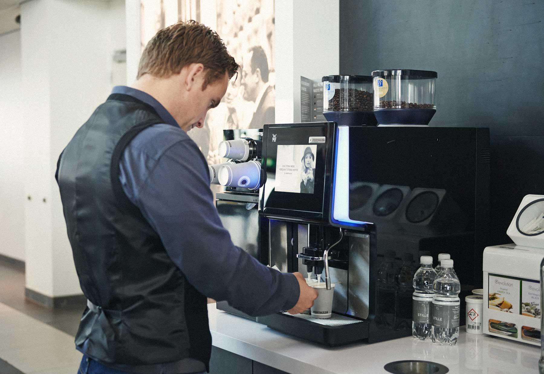 Stap 3: Uw persoonlijke barista-instelling >>