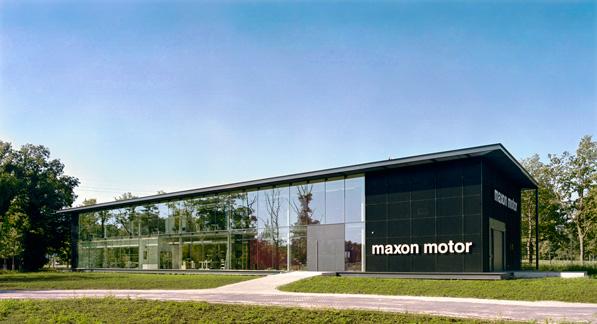 maxon motor voorgevel