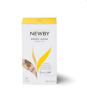 Newby Teas Green Lemon