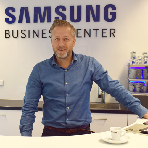 Samsung Solutions – Koffie als onderdeel van de strategie